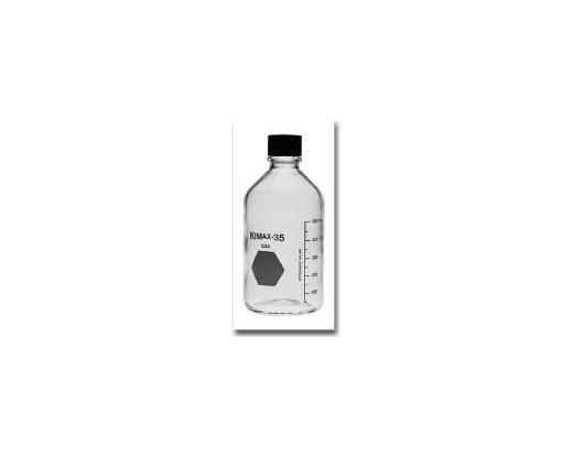 Bottle, Laboratory/Media, Borosilicate Glass, Scre