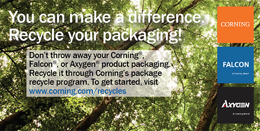 Corning Recycle Program