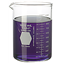 Beaker, Griffin, Low Form, Heavy Duty, with Capacity Scale, KIMAX KG-33 Glass, Kimble | DWK Life Sciences